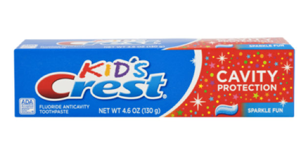 детская зубная паста Crest Kids