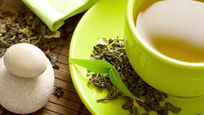 Зеленый чай от флюса