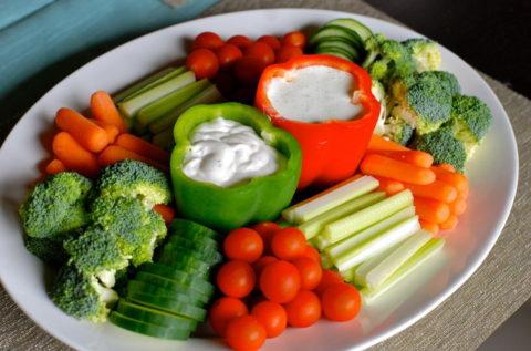 Полезно овощное питание