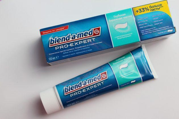 Зубная паста от зубного камня Blend-a-Med