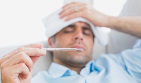 Высокая температура – показатель того, что организм борется с инфекцией