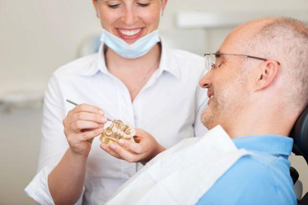 Пластмассовые временные коронки на зубы