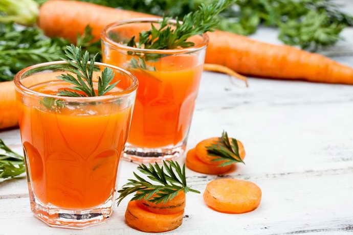 сок морковки от стоматита