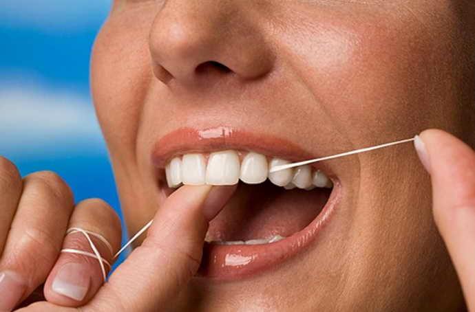 зубные нити для коронок