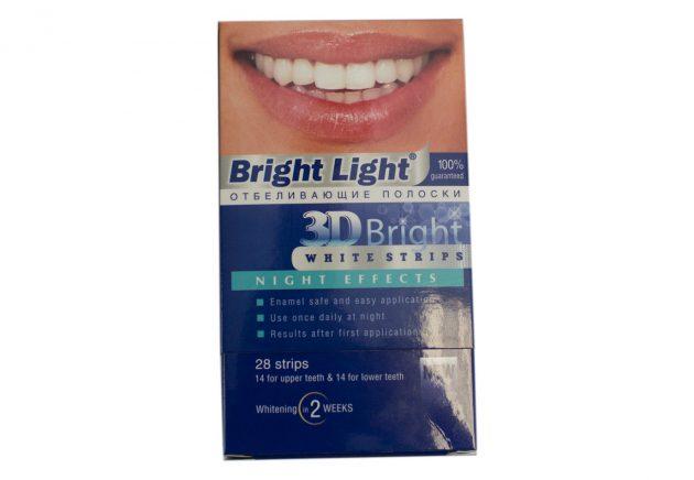 Полоски для отбеливания зубов Bright Light