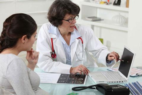 Посещение гинеколога фото