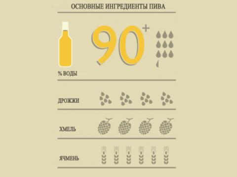 Ингридиенты напитка