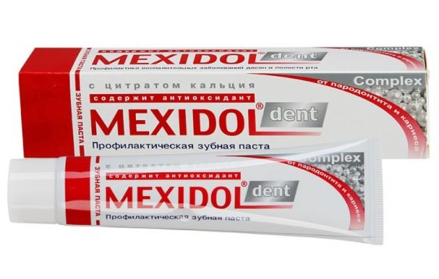 зубная паста Mexidol Dent Complex