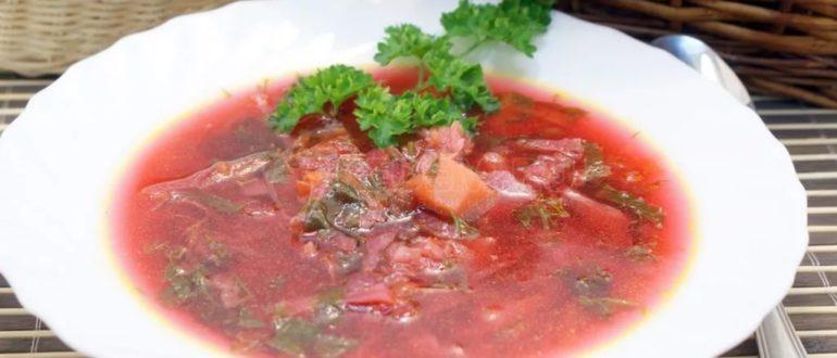 Суп при панкреатите