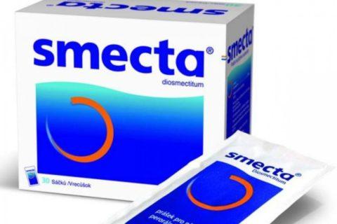 Пакетики со Смектой есть во многих домашних аптечках