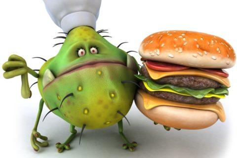 Наиболее распространенная форма интоксикации организма – отравление продуктами питания.