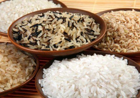 Белый рис поможет вывести соль из организма.