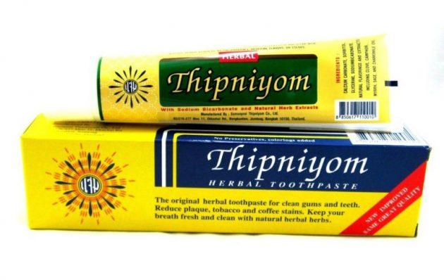 Тайская зубная паста Thipniyom