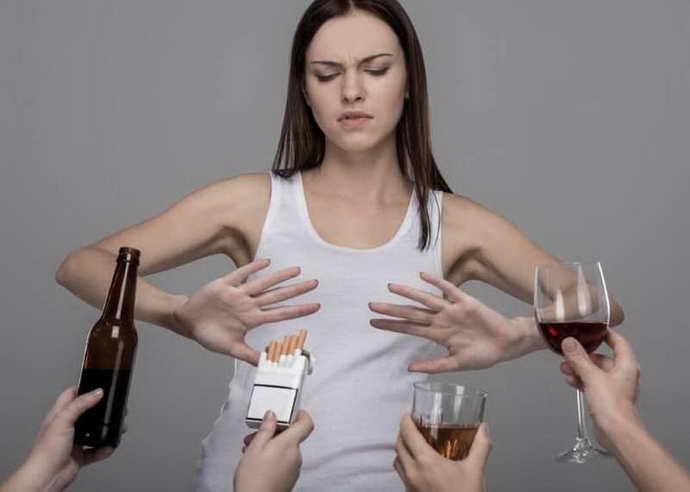 Исключить из образа жизни вредные привычки