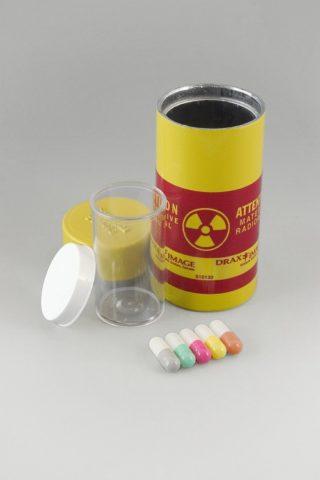 Капсулы с радиоактивными изотопами для перорального приема