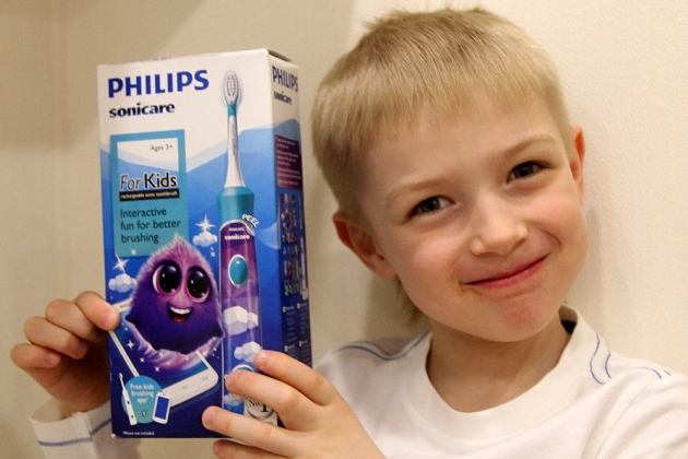 зубная щетка sonicare for kids