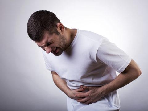 DSP-токсин вызывает острые боли в области живота