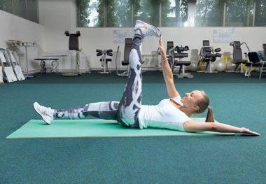 упражнение при спазме