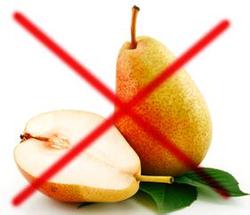 Груша запрещена при панкреатите