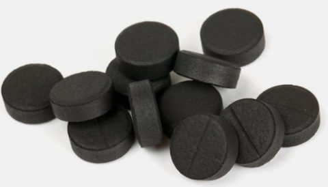 Активированный уголь - хороший адсорбент