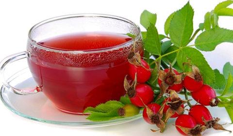 Отвар шиповника богат витаминами и способствует лучшему восстановлению после обезвоживания