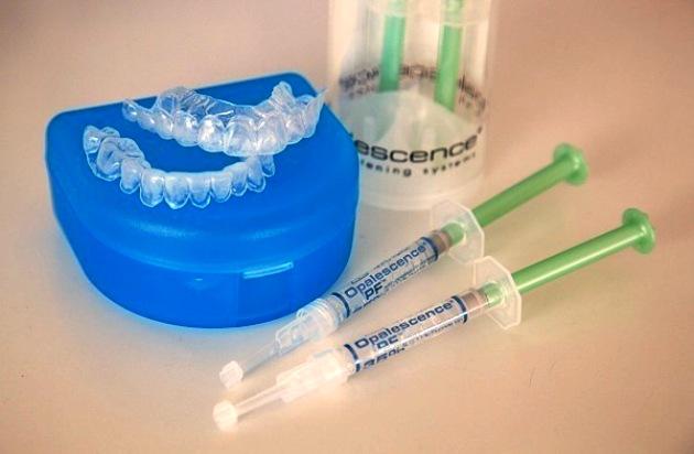 домашнее отбеливание зубов opalescence