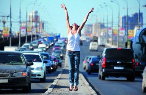 Прогулка по автостраде – плохая идея