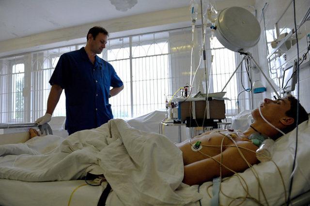Парень в больнице