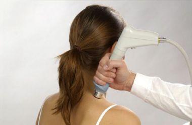 лечение ультразвуком больной снины