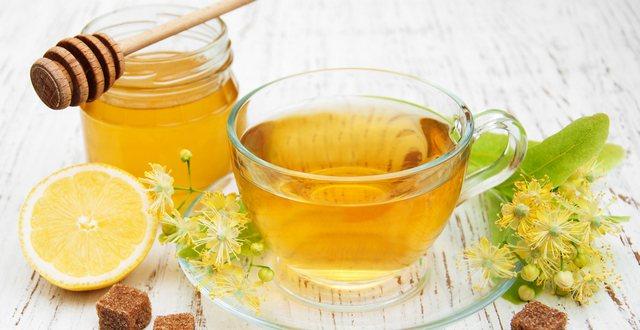 Зеленый чай и мед