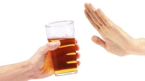 Лучшая защита от отравления спиртным – полный отказ от него.