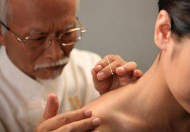 иглоукалывание в шею