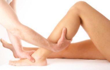 массаж ног при миозите