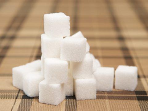 Сахар рафинад.