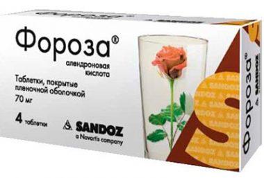 таблетки Фороза