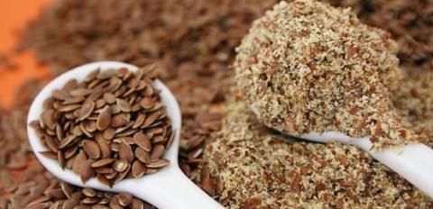 Употреблять следует свежемолотые семена льна.