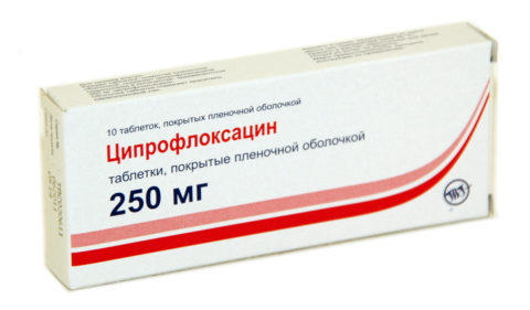 Ципрофлоксацин – современный антибиотик, использующийся в лечении ИТШ