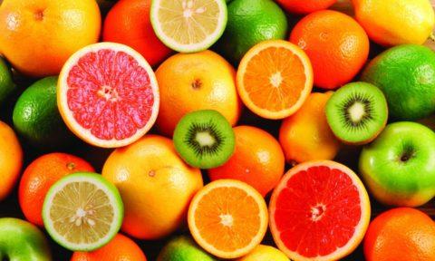 Свежие фрукты – отличный источник витаминов