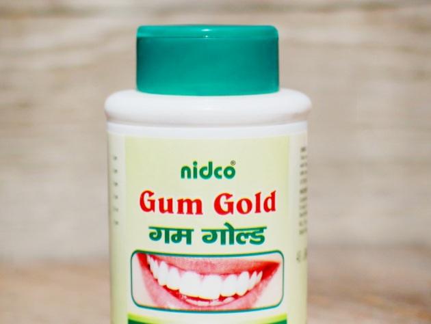 Gum Gold зубной порошок