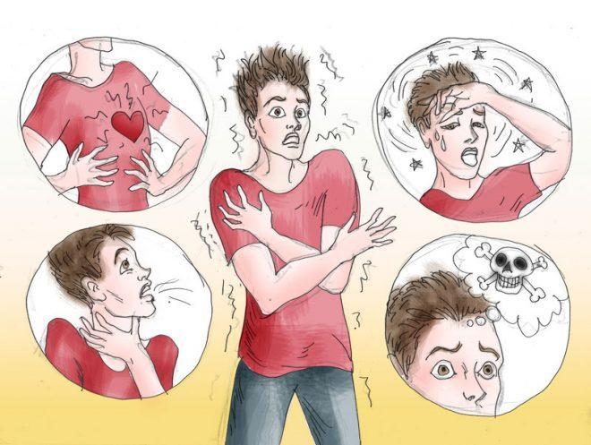 Симпатоадреналовый криз симптомы