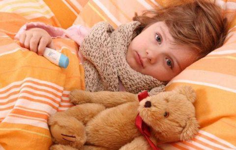 Инфекция у малышей всегда протекает бурно