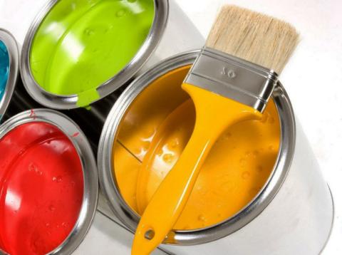 Краска – вещество, содержащее высокий процент токсинов.