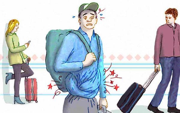 Заболел живот в путешествии