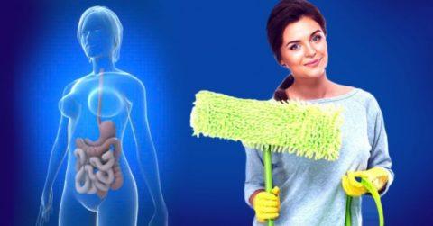 Ну нужно забывать о предварительном очищении организма