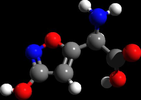 Строение молекулы иботеновой кислоты