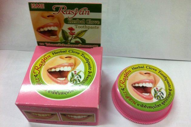 Тайская зубная паста Herbal Clove Toothpaste