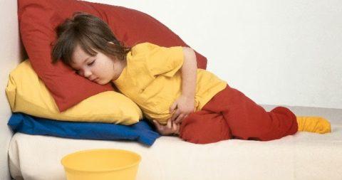 Рвота и понос наиболее опасны для детей