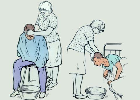 В первую очередь необходимо предотвратить всасывание токсинов в кровь путем промывания желудка