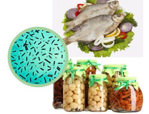 Обычно заражение ботулизмом происходит через рыбу и консервы.
