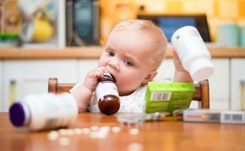 Лекарства – не игрушка для детей